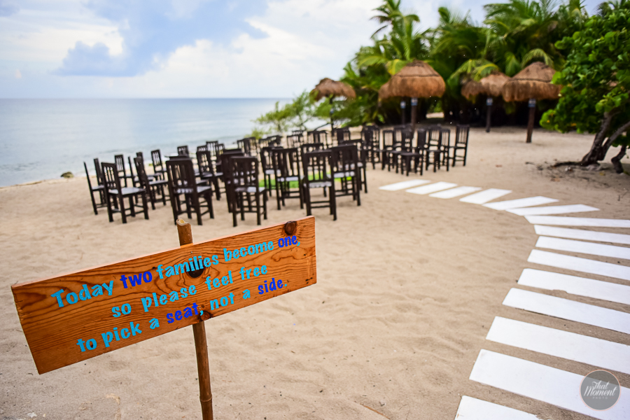 Maya beach wedding